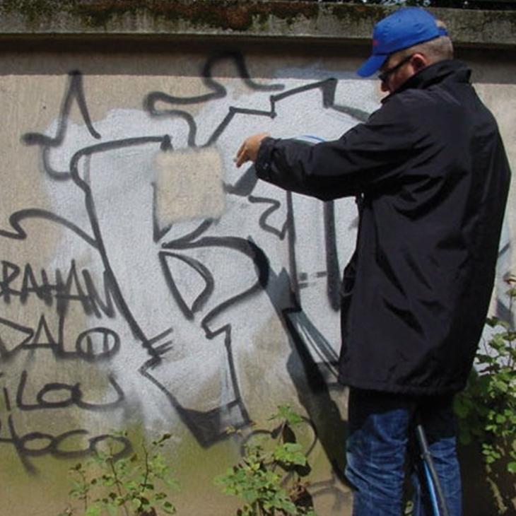 Graffiti Entfernung ACF Germany