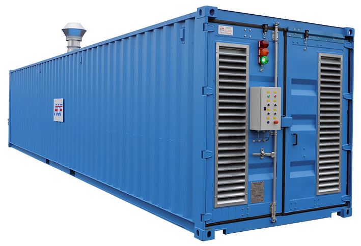 Sandstrahlcontainer ACF Germany