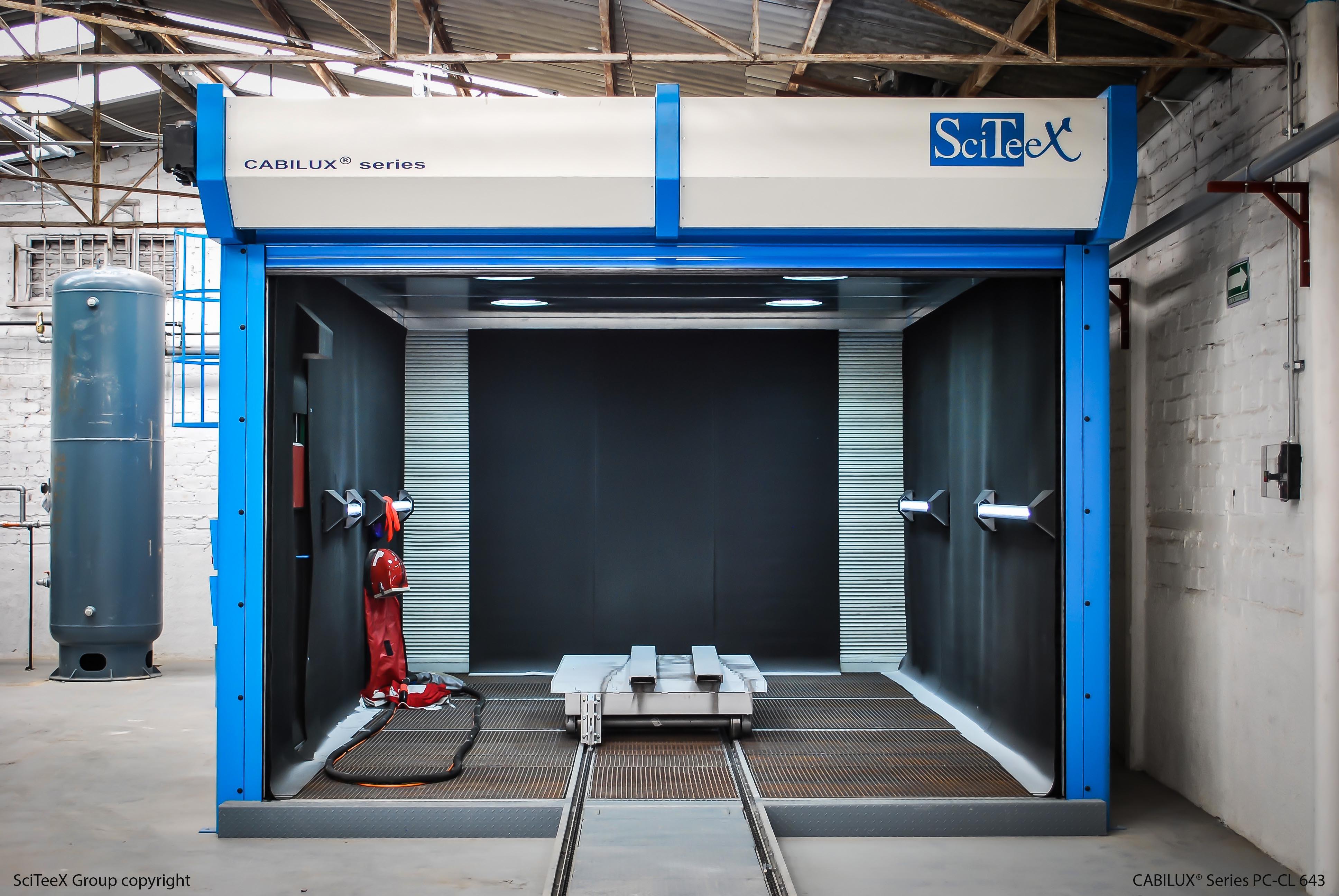 cabine de grenaillage SCITEEX-ACF