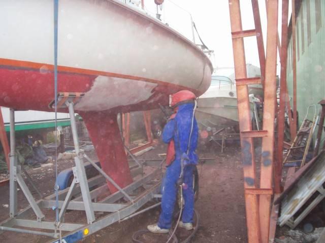 Schiff Oberflächen Reinigung ACF Germany