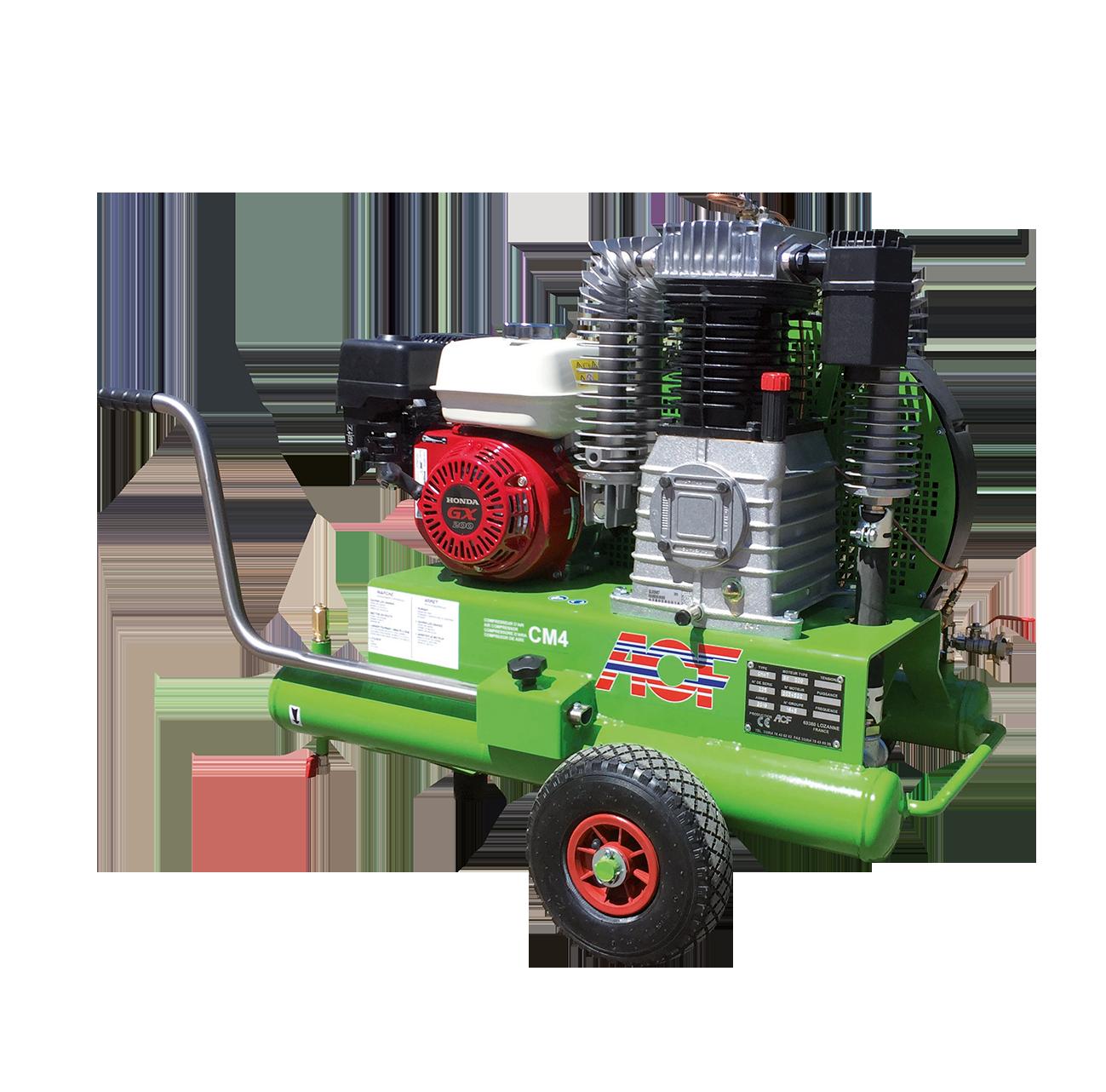 Druckluft Kompressor mit Benzinmotor CM4HL ACF Germany