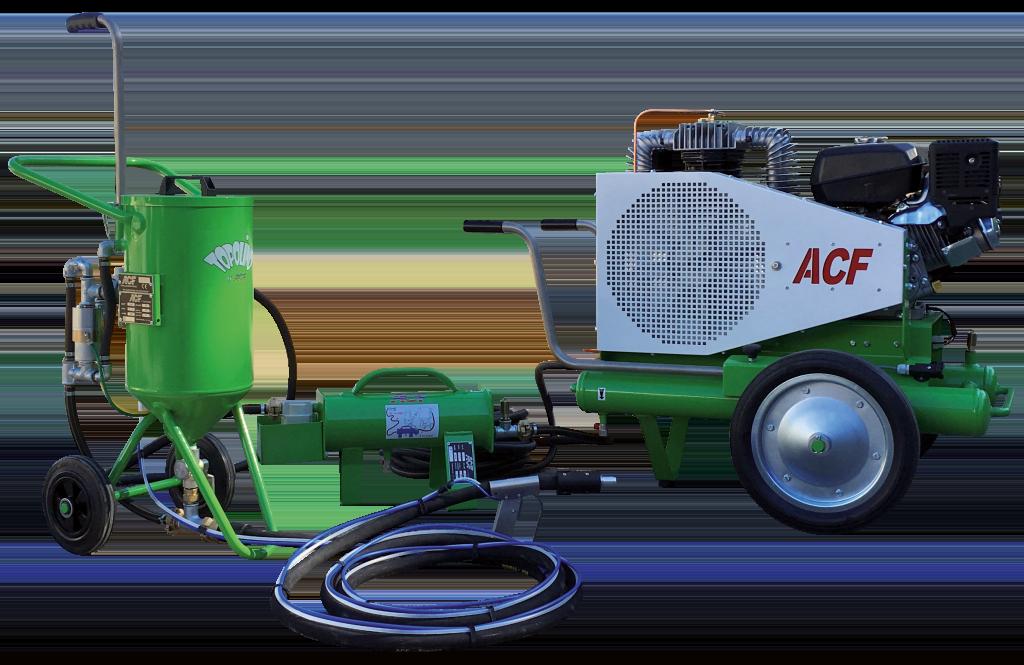 Aérogommage avec aérogommeuse Kit maxi Topolino ACF