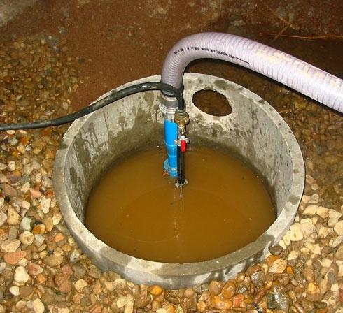 Pompe à eau pneumatique ACF FRANCE